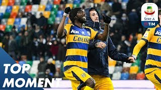 Gervinho Does What Gervinho Does! | Pacy Counter Attack | Udinese 1-2 Parma | Top Moment | Serie A