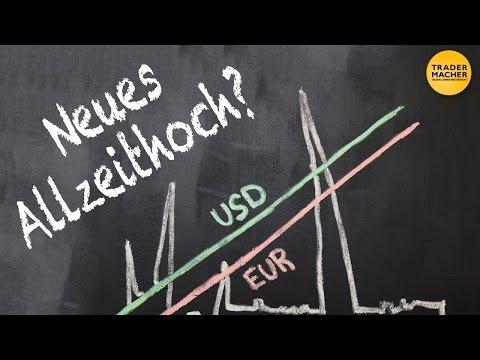 EUR/USD vor neuem Allzeithoch?