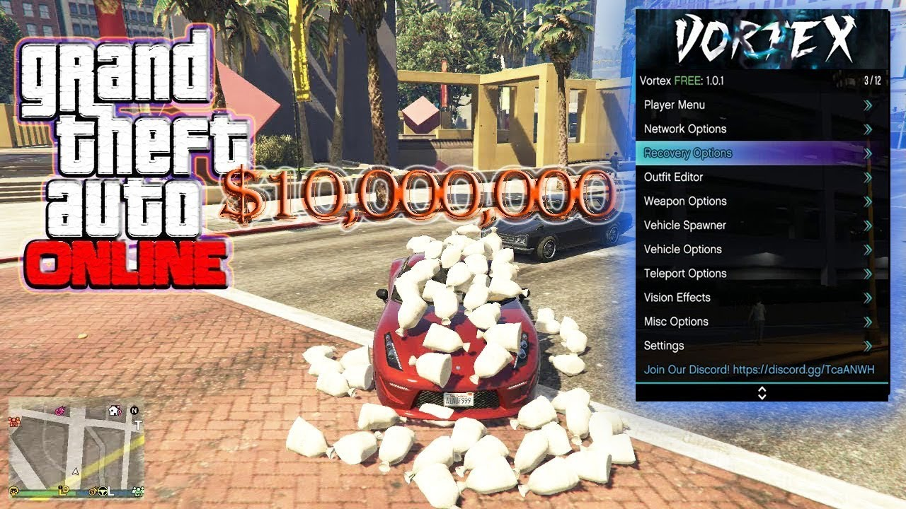 GTA 5 Online 1 46 PC Mod Menu - Vortex Menu v1 0 1 7 w/ Stealth  Money+Hacks(FREE DOWNLOAD)