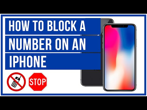 How To Block A Number On An iPhone - No Calls Or Messages 🚫