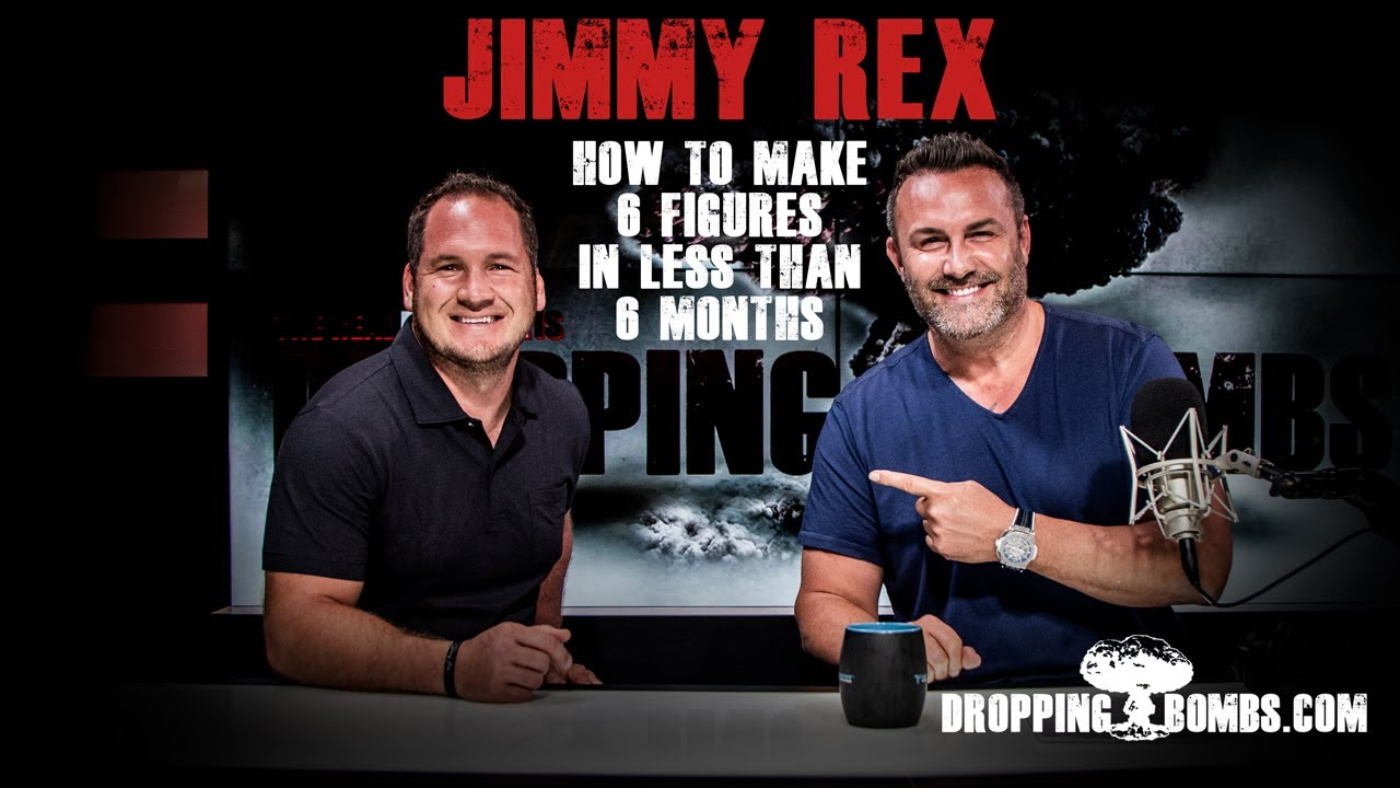 The Child Trafficking Pandemic | Dropping Bombs Podcast (Ep 302) Ft. Jimmy Rex