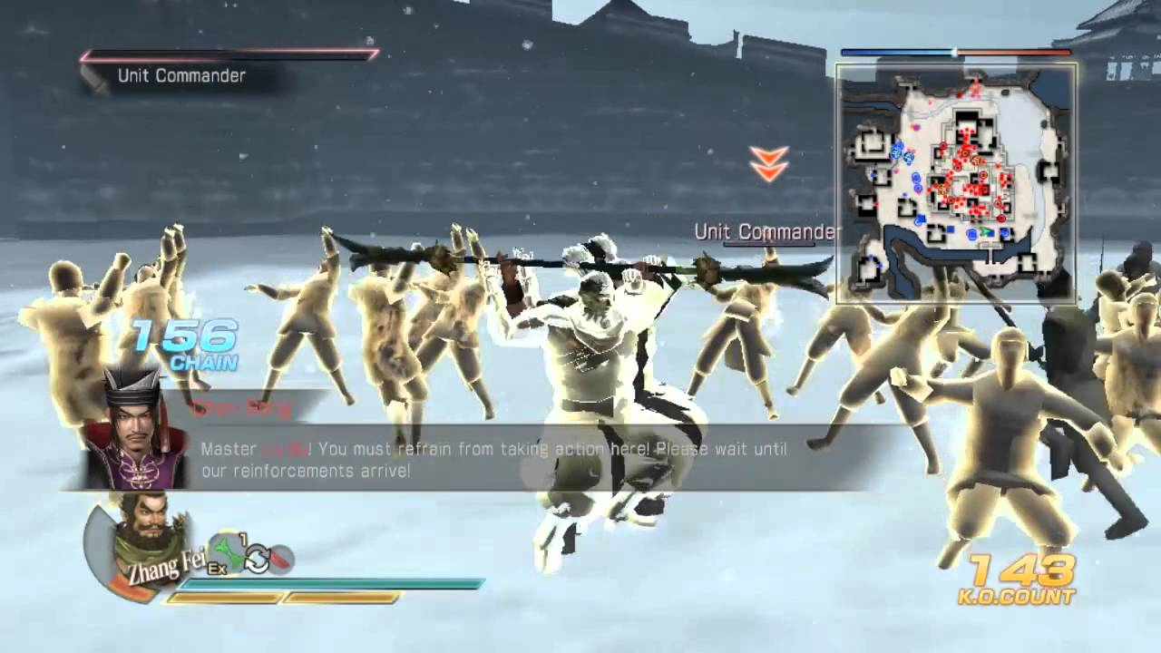 Dynasty Warriors 8 Xtreme Legends (Tam Quốc 8) – Shu – stage: defeat Lu Bu
