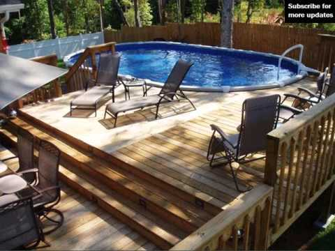 Above Ground Pool Fence pool fence ideas for above ground | fence collection and designs