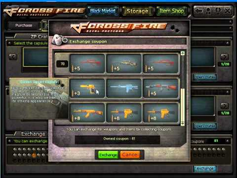 Cf coupon crossfire