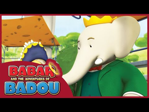 Babar And The Adventures Of Badou | Message In The Wind/ Elephants Don't Jump - Ep.  37