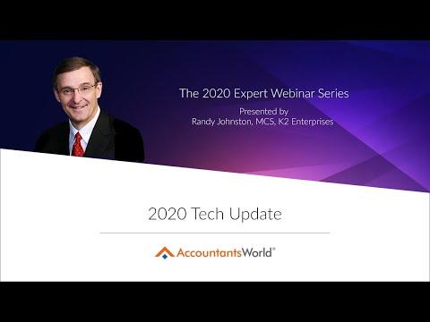 2020 Tech Update Presented By Randy Johnston
