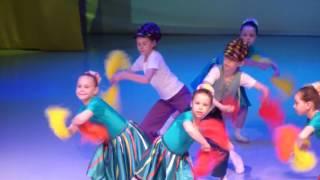 Танец 'Детство'. Школа современного танца 'Mix Dance' Челябинск. Отчетный концерт 22.05.2016