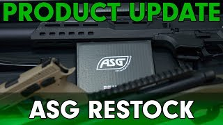 Product Update - ASG Restock