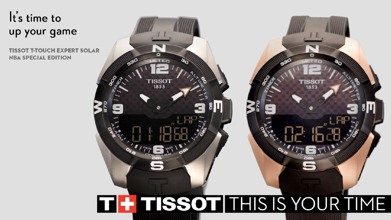Tissot T Touch Expert Solar Nba 2016 Youtube