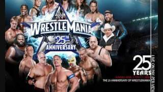 "Wrestlemania 25 Theme ""Shoot To Thrill"""