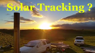 Solar Panel Tracking System Off Grid Home What Do You Think ?
