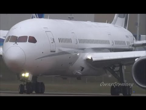 1st Boeing 787 Dreamliner VIP Business Jet Take Off