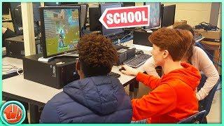 Fortnite Op School Spelen Zonder Straf!!
