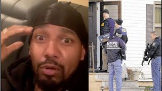 👀 Juelz Santana On Hiding His Kids In Basement From Police