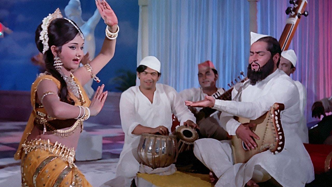 Chham Chham Baaje Re Payaliya 4K - Shammi Kapoor | Leena Chandavarkar | Manna Dey