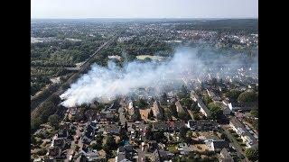 Feuer in Siegburg: Der verheerende Großbrand an der ICE-Strecke und seine Folgen