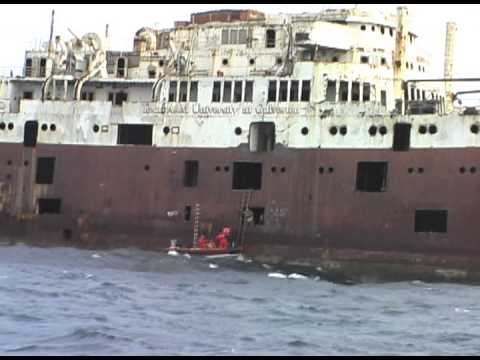 USTS Texas Clipper: Creation of an Artificial Reef 17 November 2007