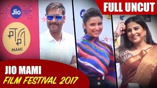 Full UNCUT | Jio Mami Film Festival 2017 | Ajay Devgn | Parineeti Chopra | Vidya Balan