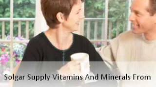 Buy Solgar Vitamins Online And Improve Your Health