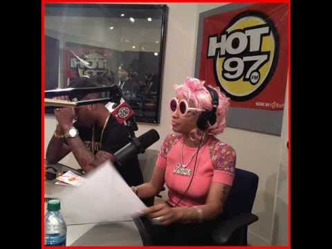Nicki Minaj Name Checks Missy Elliott (HOT97 interview Funkmaster Flex)
