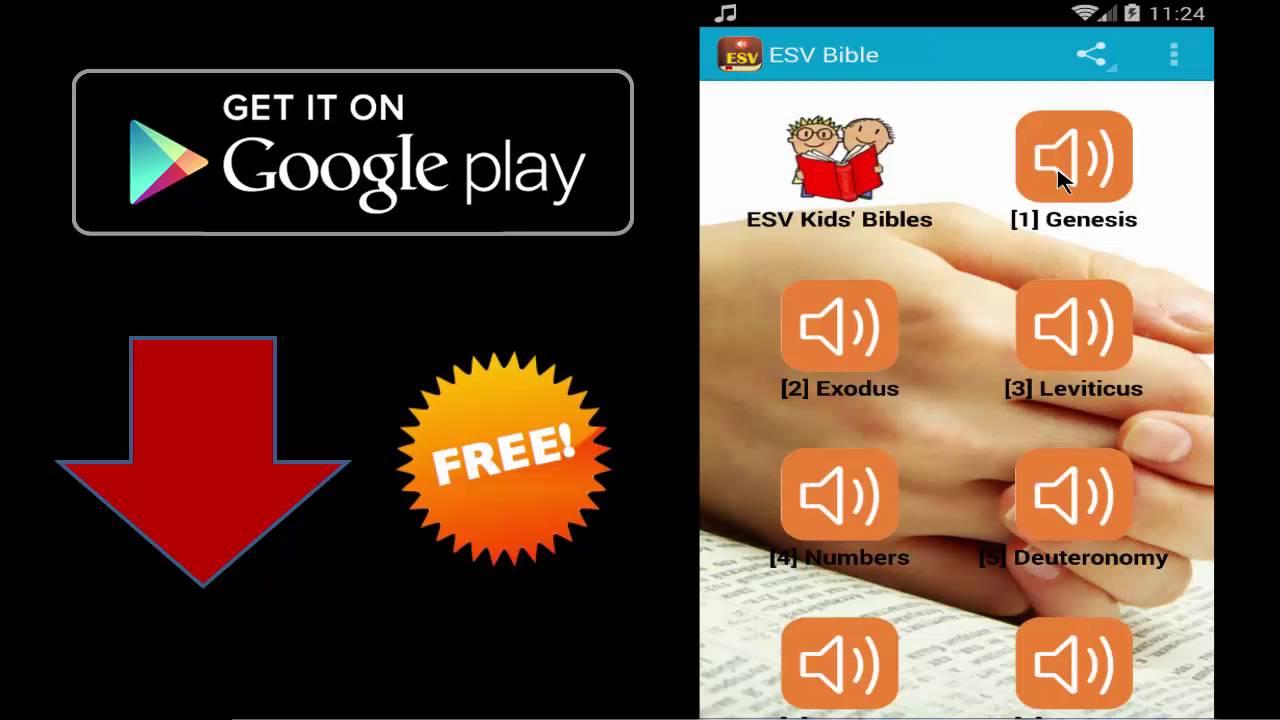 bible version audio download standard english