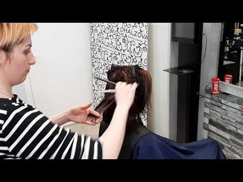 Как выполнить окрашивание и женскую стрижку