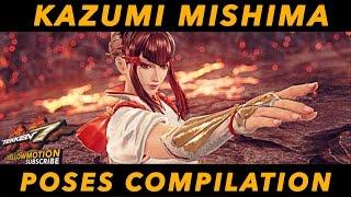 Download Video TEKKEN 7 | Kazumi Mishima | Intro - Win Pose Compilation | HD 60FPS | 鉄拳7 MP3 3GP MP4