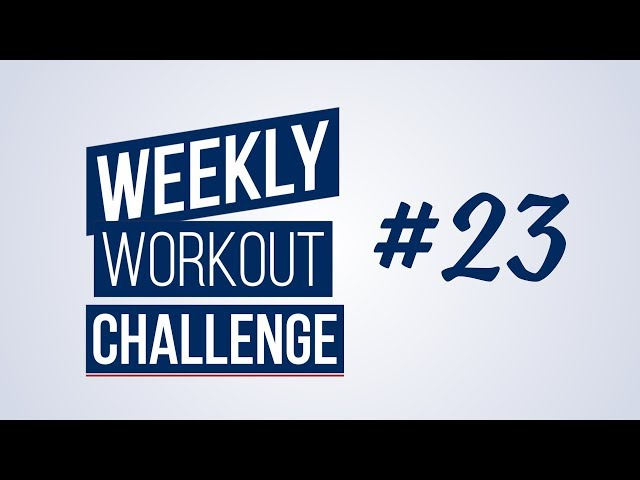 Weekly Workout Challenge | Renaud Center
