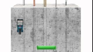Univerzální detektor Bosch D-TEC 150 (EN)