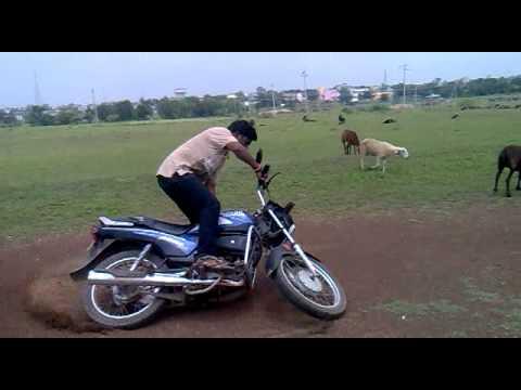 manoj jadhav bhalki bike rider