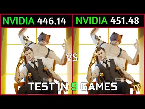 Nvidia Drivers 446.14