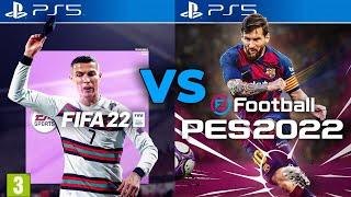 FIFA 22 vs PES 22 | Czy to będzie rok PESa?