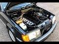 1988 Mercedes 300CE - Engine Bay
