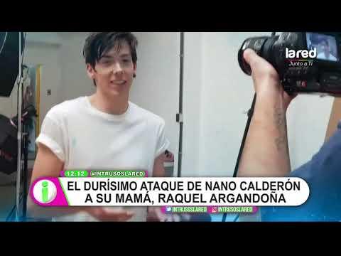 Nano Calderón posteó duros mensajes contra Raquel Argandoña