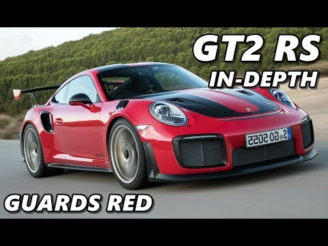 2018 Porsche 911 GT2 RS - Guards Red - Driving, Exterior, Interior