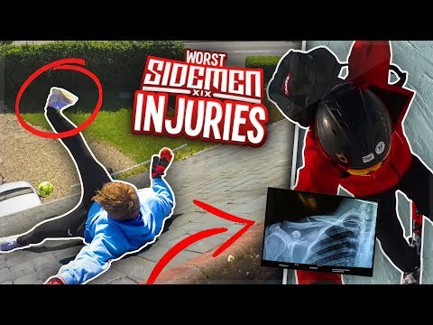 THE WORST SIDEMEN INJURIES...