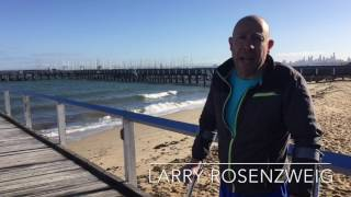 Cold Water Immersion Relieves Symptoms On Multiple Sclerosis MS - Larry Rosenzweig
