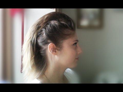 Short, fine hair tutorial: Faux Hawk