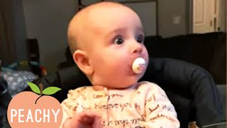 Babies Getting Startled By The Dumbest Things For 10 Minutes Straight