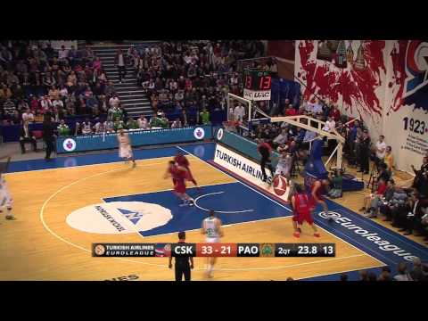 Playoffs Magic Moments: Big Block by Victor Khryapa, CSKA Moscow