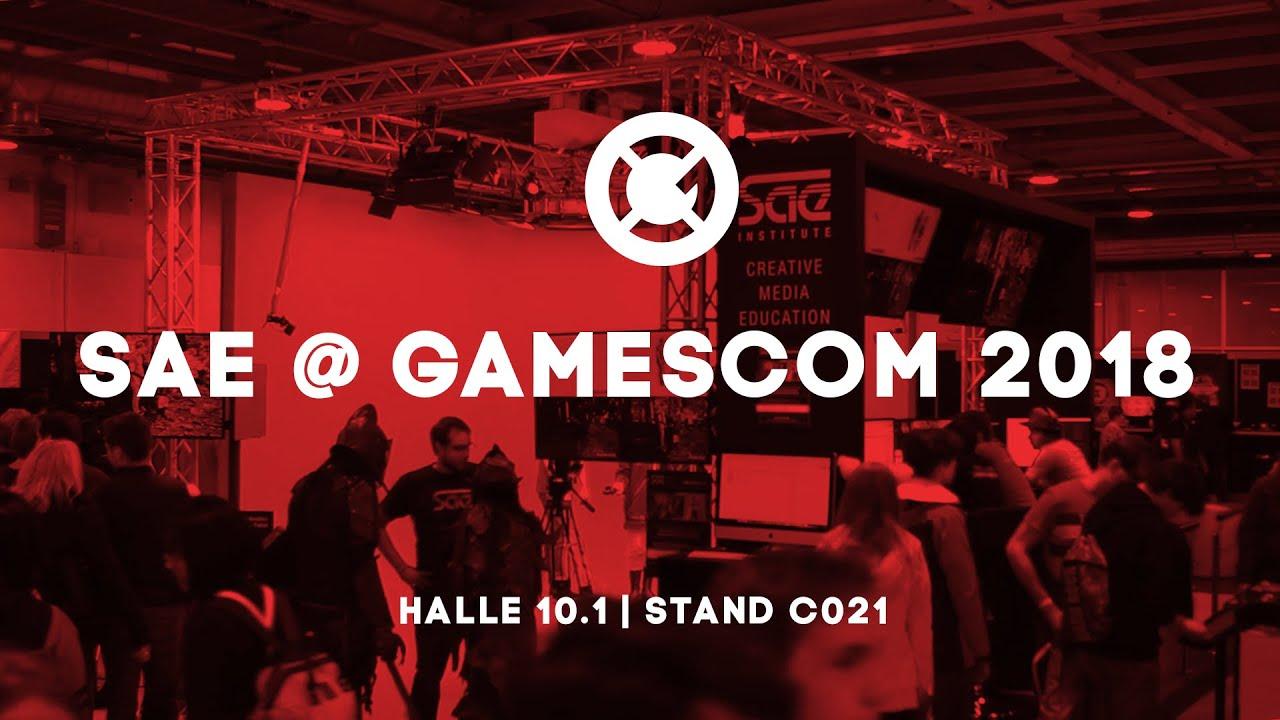 Sae Auf Der Gamescom 2018 Halle 10 1 Stand C021