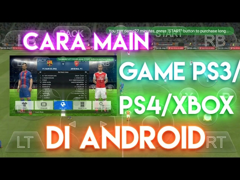 Cara Main Game PS4 di Android - New App - YouTube