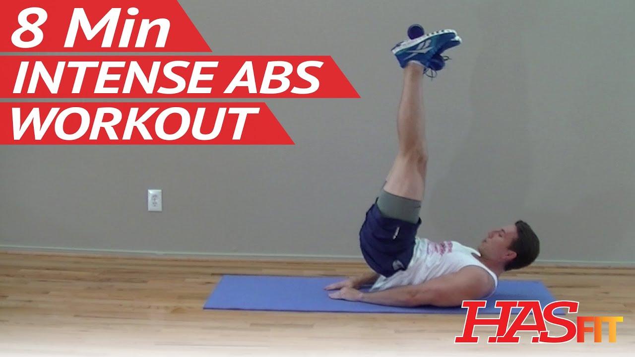8 Min Intense Ab Workout