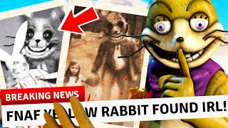 more PROOF FNAF was REAL BEFORE the GAMES! (unbelievable Glitchtrap Photos found!)