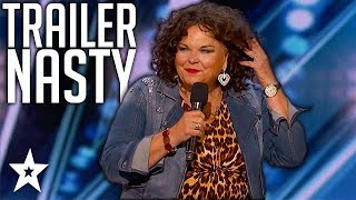 Comedy Finalist Is Trailer NASTY on America's Got Talent 2018 | Got Talent Global