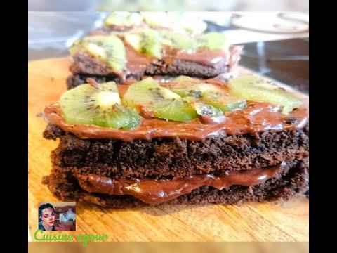 ارقى-و-احلى-حلوة-شكلاط-بالكيوي-تحظريها-في-رمشة-عين-recette-gâteau-au-chocolat-avec-kiwi