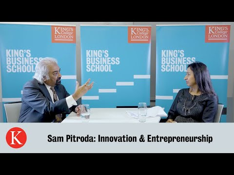 King's Business School | Sam Pitroda