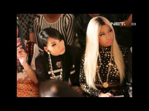 Entertainment News - CL 2NE1 bersama Nicky Minaj di NYFW 2013