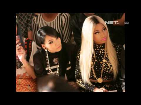 Entertainment News - CL 2NE1 bersama Nicky Minaj di NYFW 2013