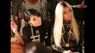 entertainment news   cl 2ne1 bersama nicky minaj di nyfw 2013